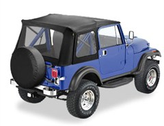 Bestop Supertop for Jeep CJ7, YJ