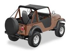 Traditional Bestop Bikini Top - Jeep M38A1, CJ5, CJ6 (1951-1981)