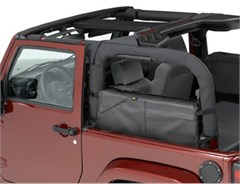 Saddle Bag Jeep Wrangler JK 2 Door 2007-2018 Black Diamond Bestop