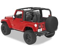 Bestop Sport Bar Covers, for Jeep® Wrangler, 2 Door 2007-2009