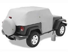 All Weather Trail Cover Jeep Wrangler JK 2D 2007-2017 Gray by Bestop