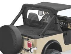 Bestop Deck Cover, Jeep CJ7/YJ, 80-91 W\SUPERTOP BOW FOLDED DOWN