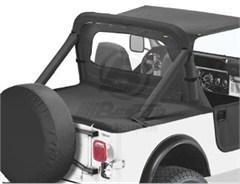 Bestop Duster™ Deck Cover, CJ-7 & Wrangler, 80-91