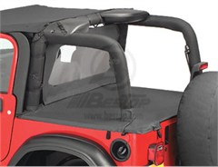 Bestop Deck Cover,Jeep Wrangler TJ 03-06  W\FACTORY SOFT TOP BOW
