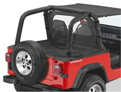 Bestop Deck Cover - Jeep YJ 92-95 W\FACTORY SOFT TOP BOW FOLDED