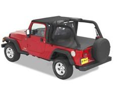 Bestop Deck Cover, Jeep Wrangler LJ Unlimited W/HARDTOP REMOVED