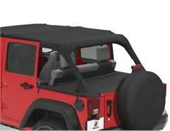 Bestop Duster Deck Cover Jeep Wrangler 4 Door 2007-2017