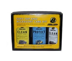 Bestop Soft Top Cleaner and Protectant Package