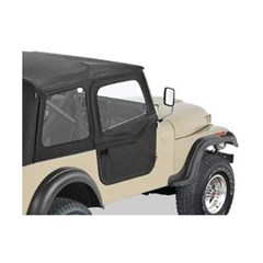 Bestop Supertop Soft Doors for Jeep CJ-7, CJ8