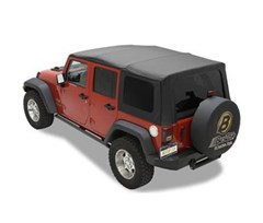 Bestop Sailcloth Replace-a-top - Wrangler JK 4 Door 2010