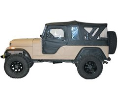 Bestop Tigertop Softop Replacement - Jeep CJ6 1955-1978