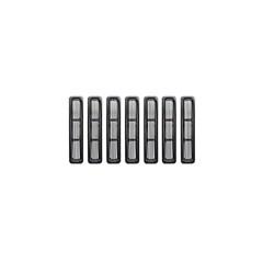 Black Billet Grille Inserts for Jeep Wrangler TJ, LJ (1997-2006)
