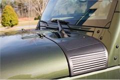 Cowl Body Armor Pair Wrangler JK 2007-2017 Black Rugged Ridge