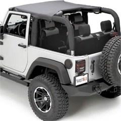 Summer Brief Top for 2 Door Jeep Wrangler JK (2007-2009)