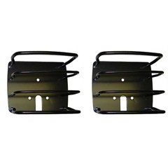Jeep Black Euro Tail Light Guards