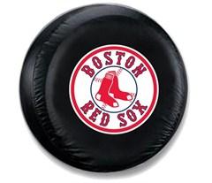 Boston Red Sox MLB Tire Cover - Black Vinyl
