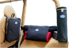 BackTrail Outfitters Set of 4 Jeep Storage Bags for 4 Door JK