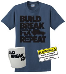 """Build, Break, Fix, Repeat"" Gift Set"