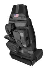 Cargo Seat Cover Wrangler YJ TJ JK 1987-2017 Front Black Rugged Ridge