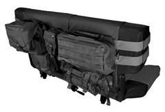 Rear Cargo Seat Cover, Jeep CJ,Wrangler YJ,TJ,LJ-Black 1976-2006