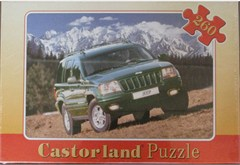 Jeep Grand Cherokee (Green) Jigsaw Puzzle
