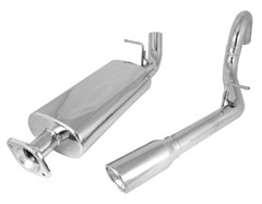 Stainless Steel Catback Exhaust Kit-Jeep Unlimited LJ 2004-2006
