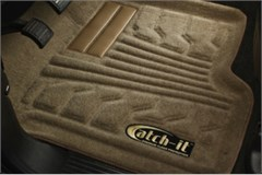 Catch-It Carpet Front Floor Liners Wrangler JK 2007-2017 Tan Rampage