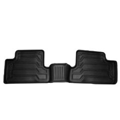 Catch-It Rear Floor Liners Jeep Wrangler JK 4D 2007-2018 Black Rampage