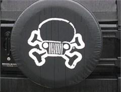 Jeep Skull & Crossbones Tire Cover