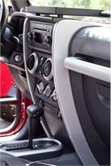 Center Dash Accent Pair for Jeep Wrangler JK (2007-2010)- Silver