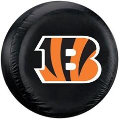 Cincinnati Bengals NFL Tire Cover - Black Vinyl
