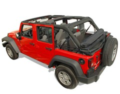 Window Roll for Jeep Wrangler JK 4 Door 2007-2018 by Cloverpatch