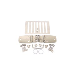 Complete Stainless Steel Hood Kit-Jeep Wrangler TJ, LJ 1998-2006