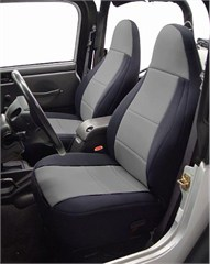 Neoprene Front Seat Covers for Jeep Wrangler TJ 2003-2006, CoverKing