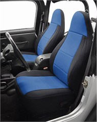 Neoprene Front Seat Covers for Jeep Wrangler TJ 1997-2001, CoverKing