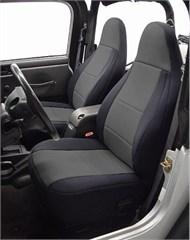 Neoprene Front Seat Covers for Jeep Wrangler TJ 2002, CoverKing