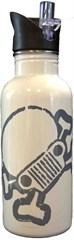 Jeep Skull & Crossbones Water Bottle