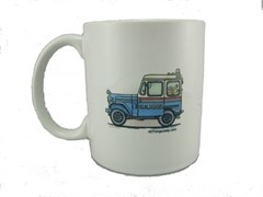 "Mail Jeep ""Old Reliable"" Coffee Mug by All Things Jeep"
