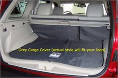 Jeep Liberty 2005-07 Cargo Liner, Canvasback