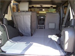 All Things Jeep Canvasback Cargo Liner For Jeep Wrangler