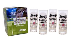 Jeep®  Shot Glasses (set of 4) - Officially Licensed Jeep Merchandise
