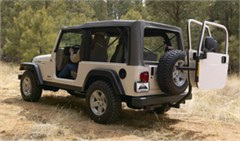 Jeep Door Dock Rack System ONBOARD DOOR STORAGE