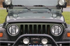 Bug Deflector for Jeep Wrangler YJ, TJ, LJ (1987-2006) - Smoked