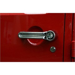 Door Handle Cover Wrangler JK 2007-2017 Chrome Rugged Ridge