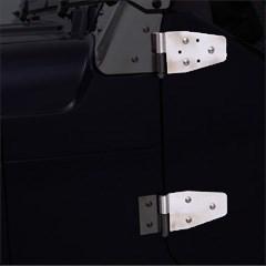 Stainless Hinges - Jeep Wrangler YJ, TJ, LJ (Half or Full Doors)