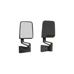 Dual Focal Point Mirrors, Jeep (1987-2002), Black