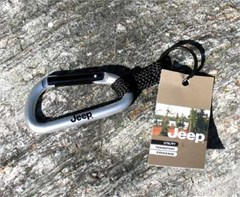 Jeep Carabiner Key Ring