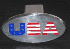 USA Logo Hitch Cover for your Jeep or SUV