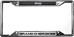 Jeep Grand Cherokee License Plate Frame