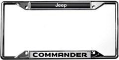 Jeep Commander License Plate Frame